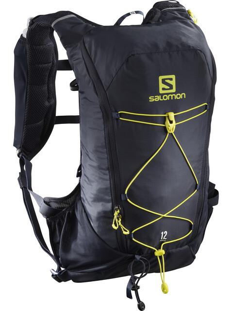 Salomon Agile 12 Backpack Set Night Sky/Sulphur Spring